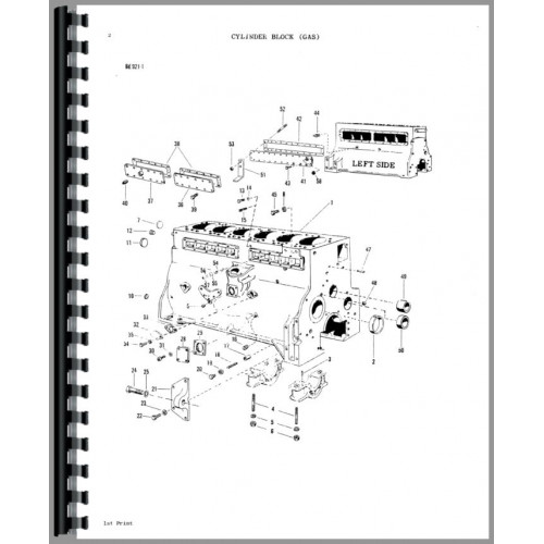 Massey Ferguson 1130 Tractor Parts Manual
