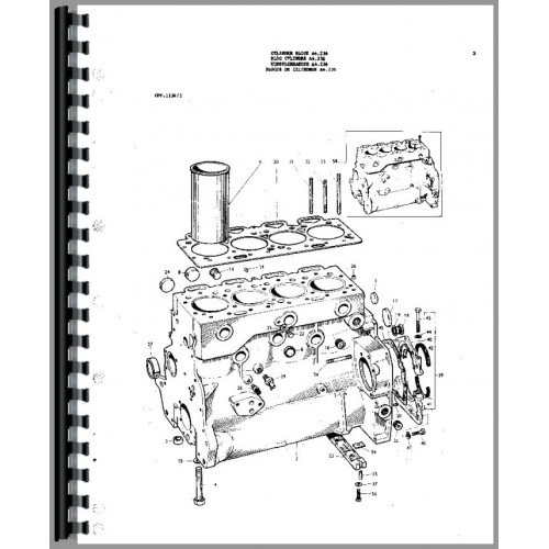 massey ferguson 175 parts diagram 7 wire trailer wiring troubleshooting tractor manual