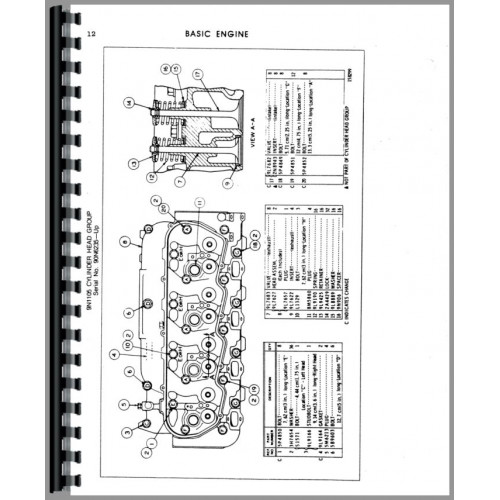 Massey Ferguson 1805 Tractor Parts Manual