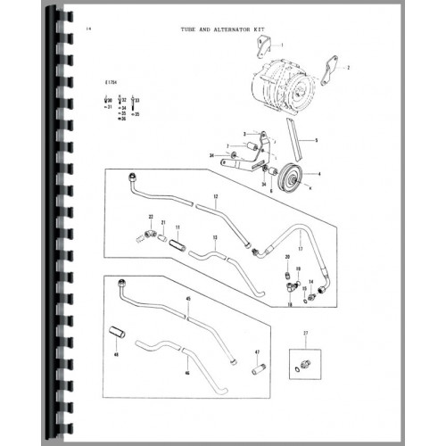 Massey Ferguson 200 Loader Attachment Parts Manual