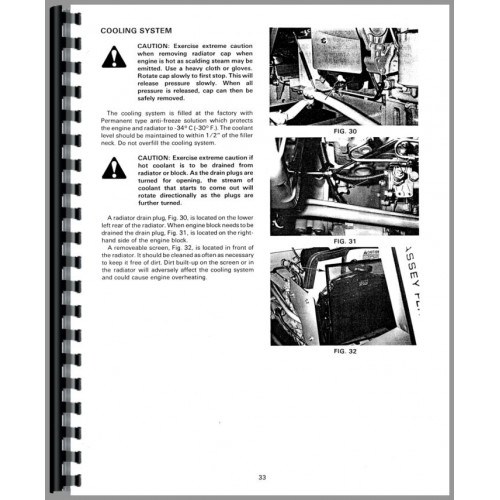 Massey Ferguson 205-4 Tractor Operators Manual
