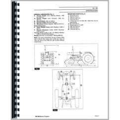 Massey Ferguson 240 Parts Diagram 2010 Pk Ford Ranger Wiring Tractor Service Manual Up To 1986