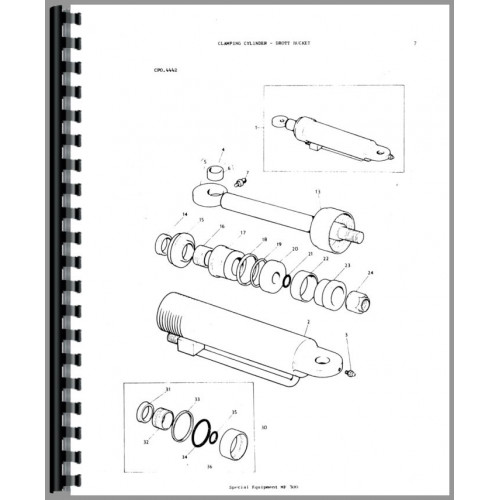 Massey Ferguson 300 Crawler Parts Manual