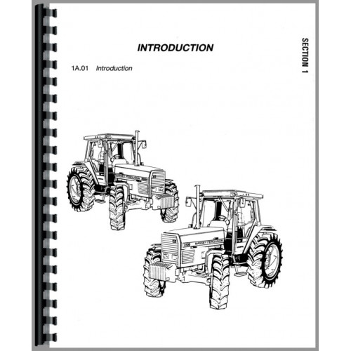 Massey Ferguson 3050 Tractor Service Manual (Chassis)