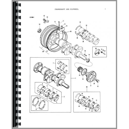 Massey Ferguson 40 Industrial Tractor Parts Manual