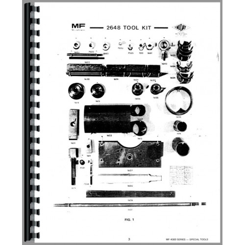 Massey Ferguson 4900 Tractor Service Manual (Chassis)