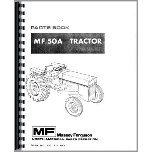 Massey ferguson 253 parts manual