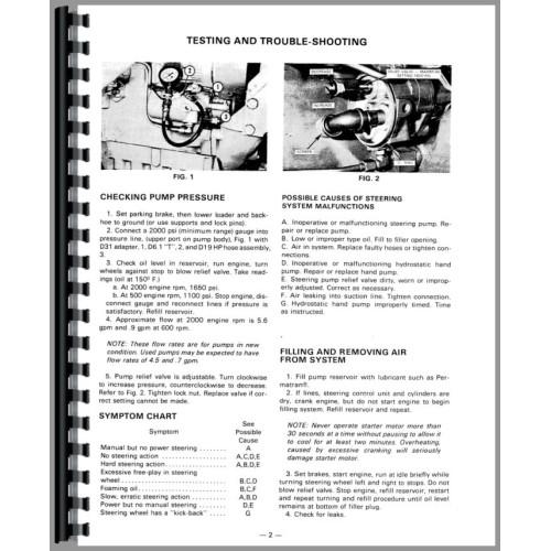 Massey Ferguson 50D Industrial Tractor Service Manual