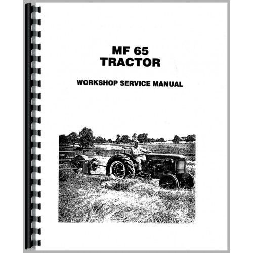 Massey Ferguson 65 Tractor Service Manual (1958-1964)
