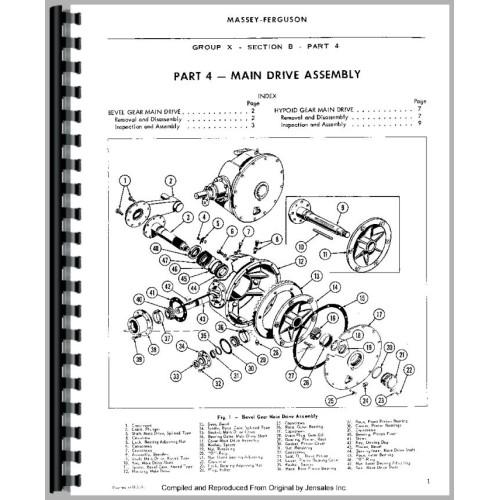 Massey ferguson 12 baler service manual