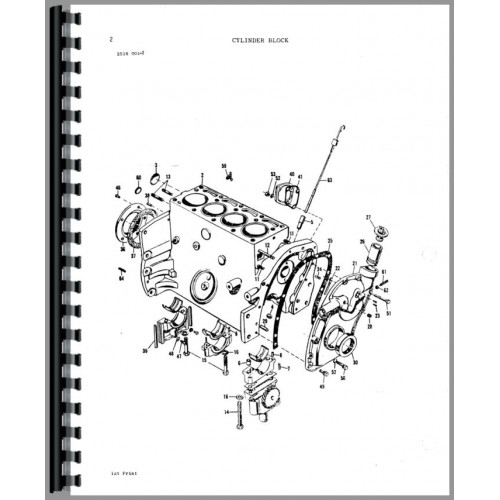 Massey Ferguson 245 Tractor Parts Manual