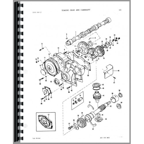 Massey Ferguson 2705 Tractor Parts Manual