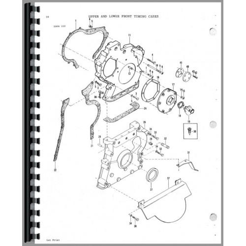 Massey Ferguson 2745 Tractor Parts Manual