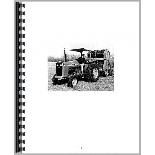 Massey Ferguson 275 Tractor Operators Manual (Diesel)