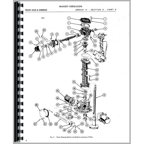 Massey Ferguson Super 90 Tractor Service Manual