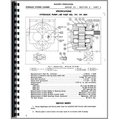 Diagrams Wiring : Massey Ferguson 135 Electrical System