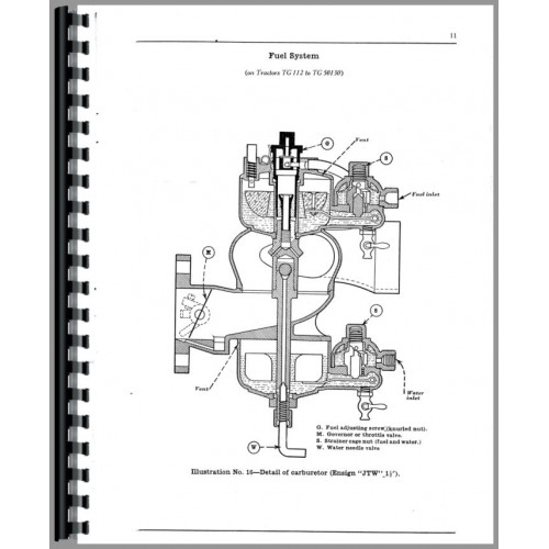 Mccormick Deering 15-30 Tractor Operators Manual (1930) (Gear)