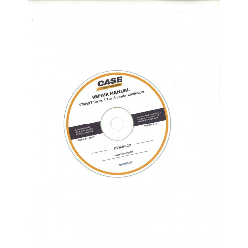 Case 570MXT Tractor Loader Landscaper Parts Manual
