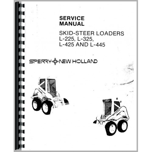 New Holland L225 Skid Steer Service Manual