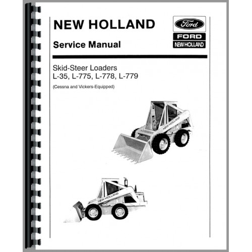 New Holland L779 Skid Steer Service Manual (Chassis)