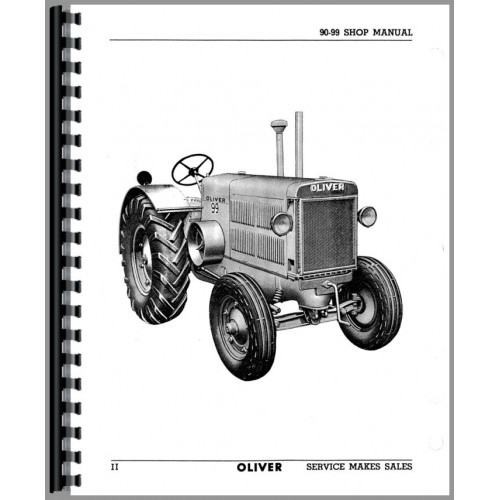 Oliver 90 Tractor Service Manual (1940)