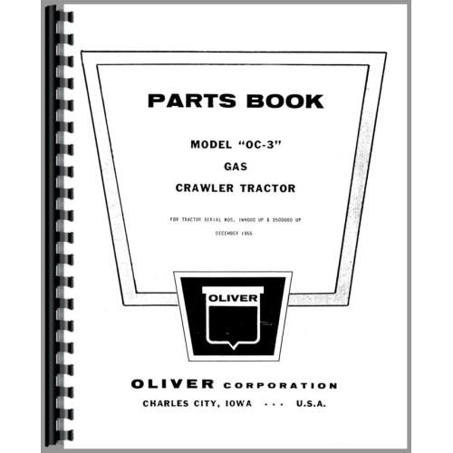 Oliver OC-3 Cletrac Crawler Parts Manual