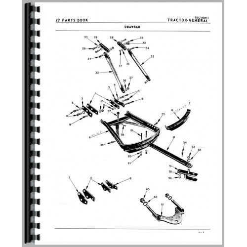 Oliver 77 Tractor Parts Manual