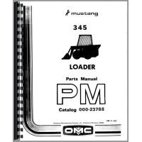 Owatonna 345 Skid Steer Loader Operators Manual