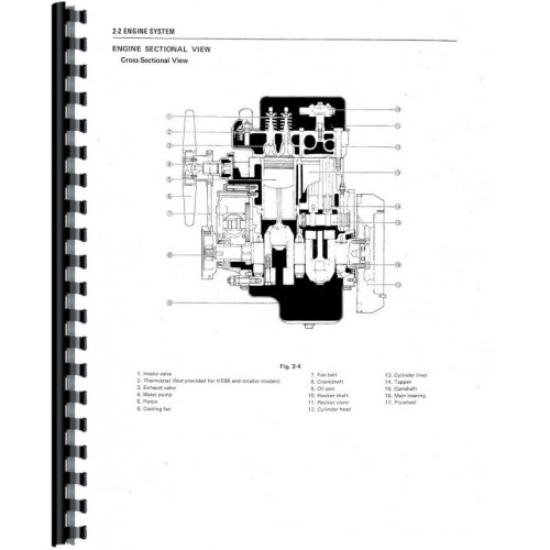 Satoh S630 Tractor Service Manual