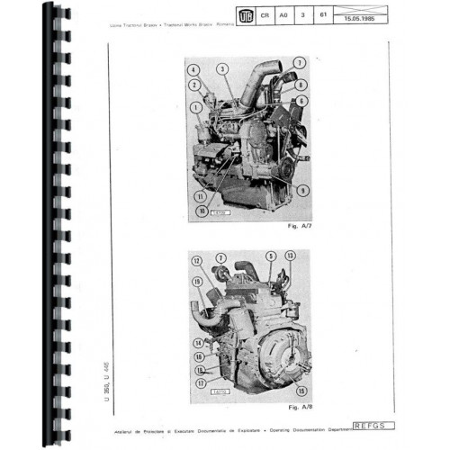 Universal U-453 UTB Tractor Service Manual