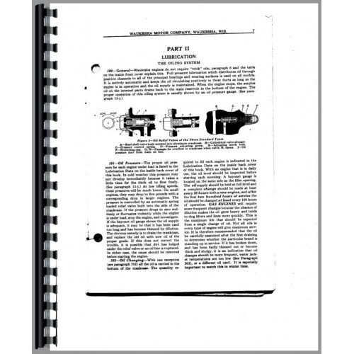Waukesha 140-GK Engine Service & Operators Manual