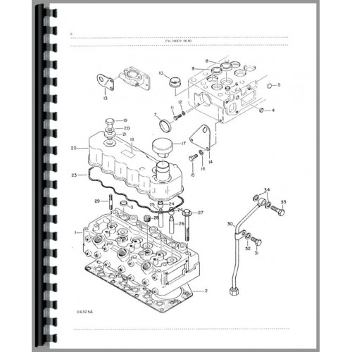 White 2-30 Tractor Parts Manual (SN# 001417 & Up)