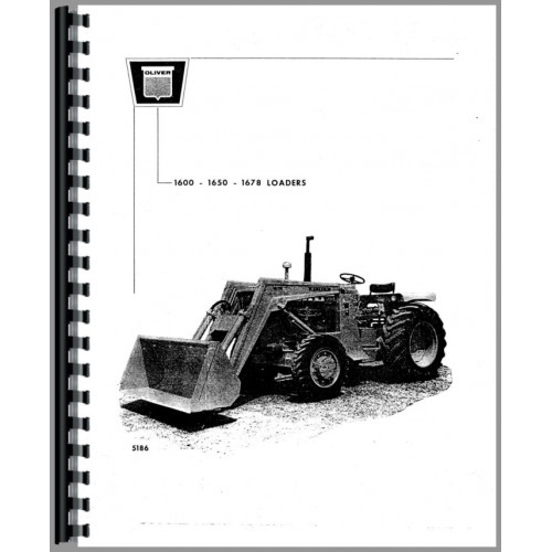 Oliver 1650 Loader Attachment Operators Manual