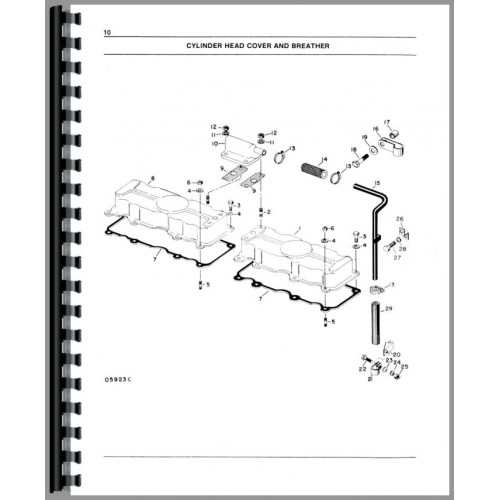 White 2-135 Tractor Parts Manual