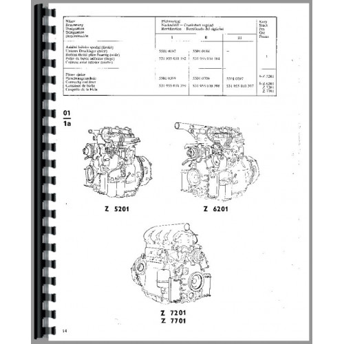 zetor 7745 wiring diagram