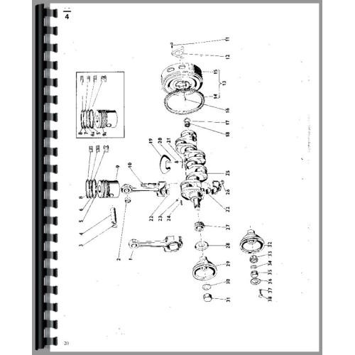 Zetor 5245 Tractor Parts Manual