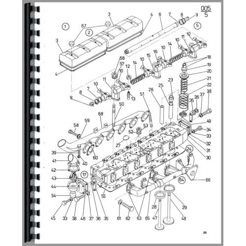 Zetor 3340 Parts Diagram