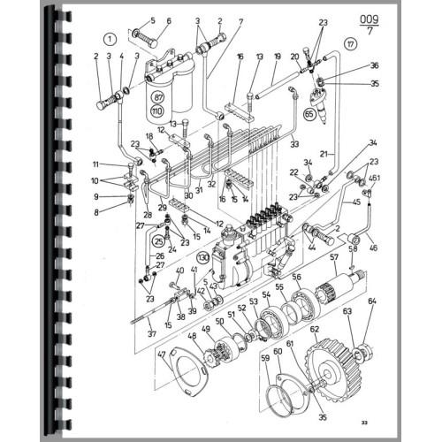 Zetor 8145 Tractor Parts Manual