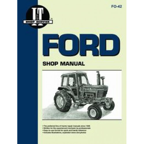 Ford Tractor Shop Manuals On 4630 Ford Tractor Wiring Harness