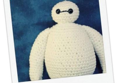 Baymax Crochet Amigurumi