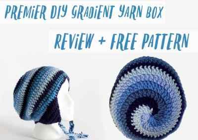 Premier DIY Gradient Yarn Box: Review + Free Pattern!