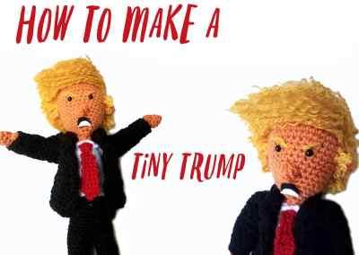 How to Make a Crochet Donald Trump