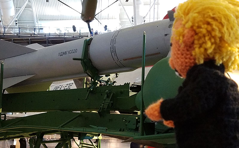 Tiny Trump Goes to Washington Soviet Missiles