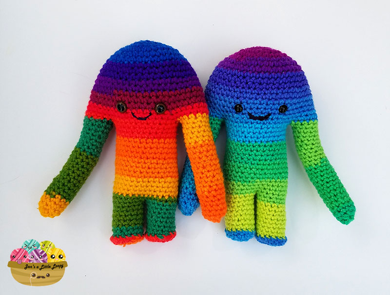Hugamonster Crochet Pattern