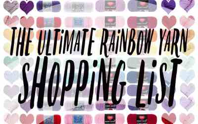 The Ultimate Rainbow Yarn Shopping Guide