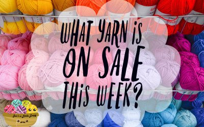 Craft Store Yarn Sales – Week of 11/26