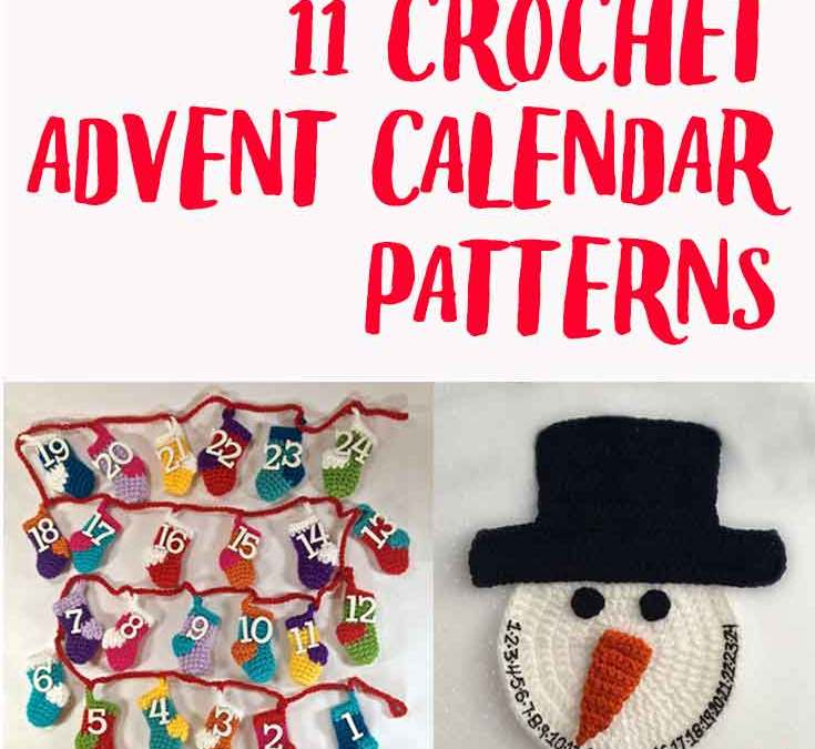 11 of the most awesome crochet advent calendar patterns
