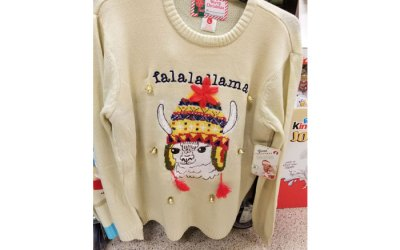 Falalallama: The Ugly Christmas Sweater That Could