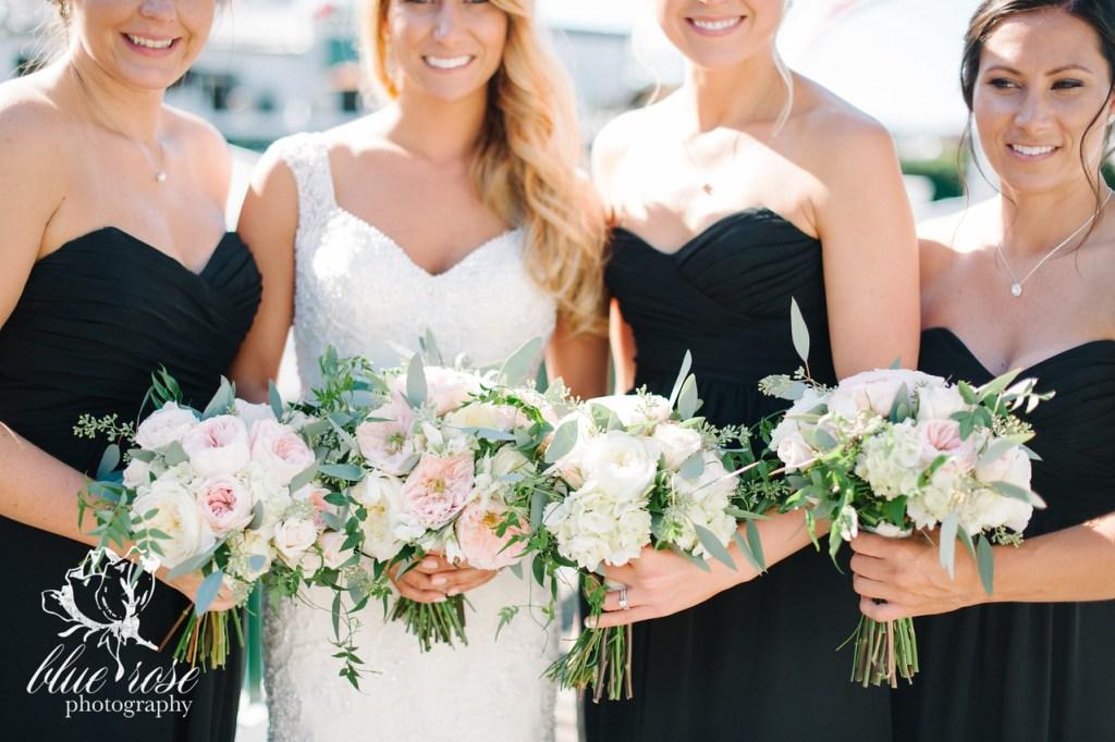 Garden Rose & Hydrangea Bouquets