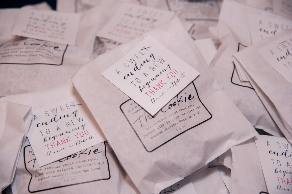 Union Station Wedding || Photo: Genesa Richards Photography ||Favors, The Cookie, Metropolitan Market